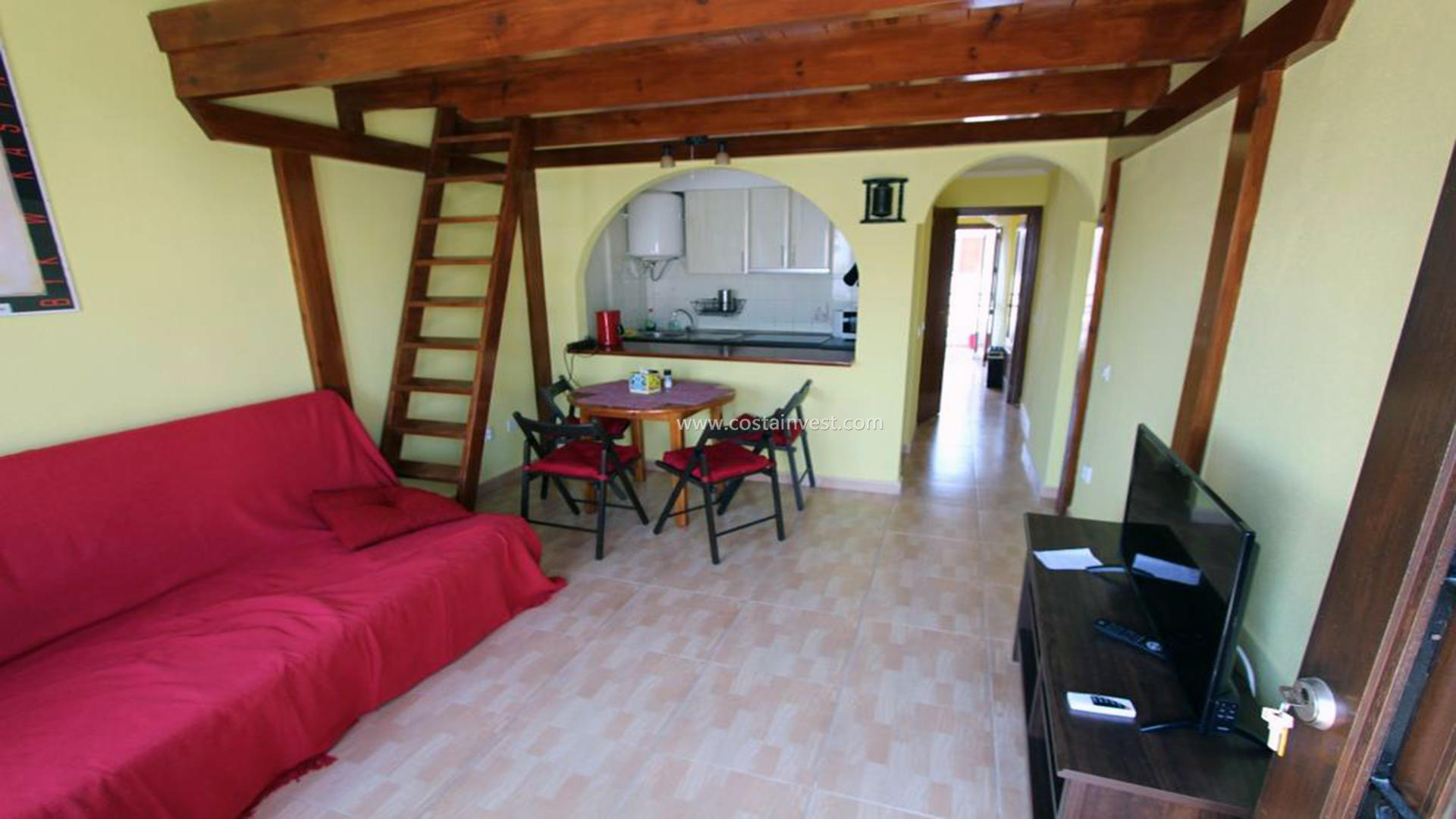 Bungalow -                                       Torrevieja -                                       1 chambres -                                       2 occupants