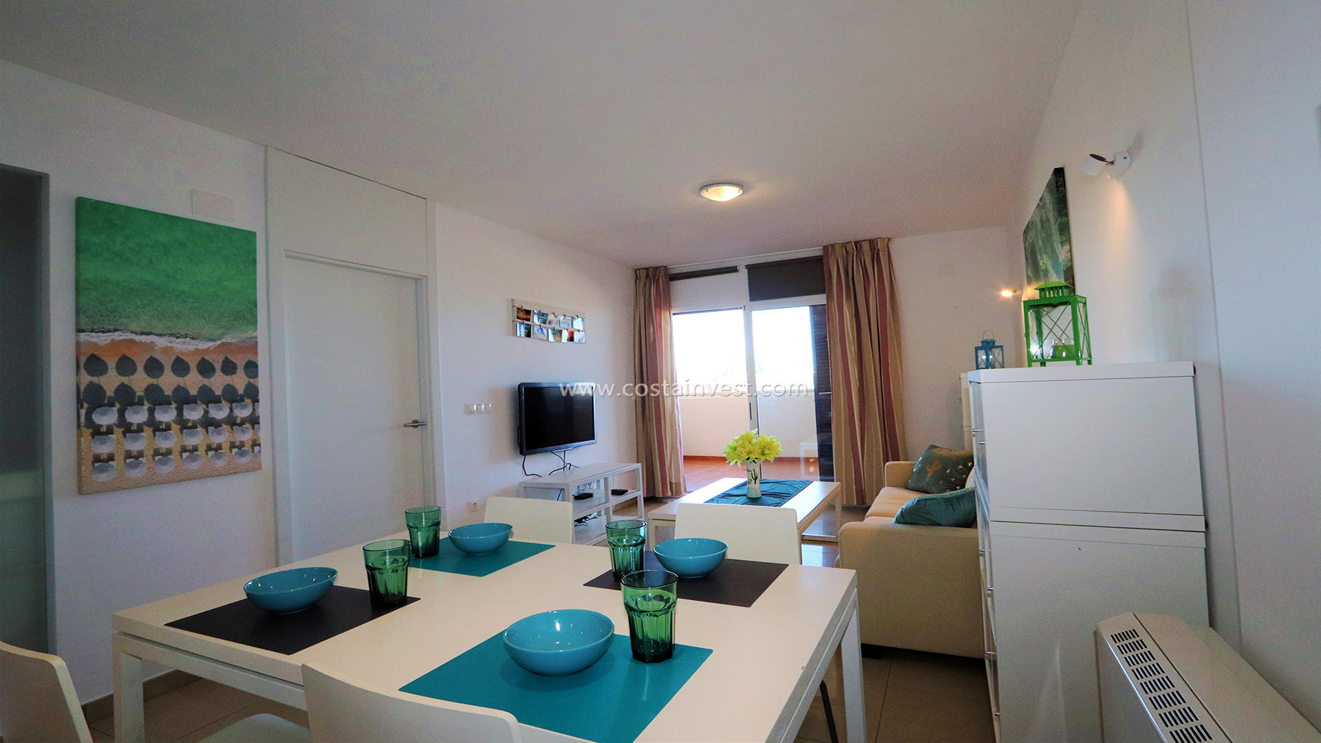 Appartement -                                       Orihuela Costa -                                       2 chambres -                                       4 occupants